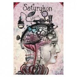 Satyrykon, postcard by Kaja...