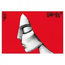 Carmen, postcard by Leszek...