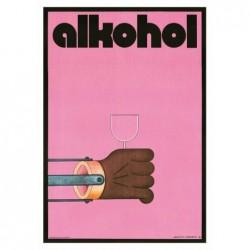 Alkohol, pocztówka, Andrzej...