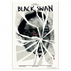 Black Swan, postcard by...