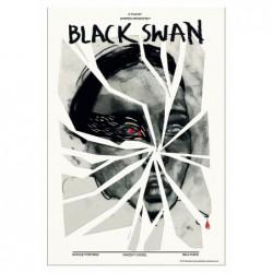 Black Swan, postcard by...