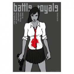 Battle Royale, postcard by...