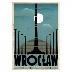 Wrocław, postcard by...
