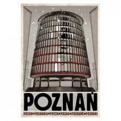 Poznań, pocztówka, Ryszard...