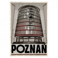 Poznań, postcard by Ryszard...