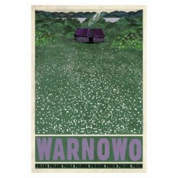 Warnowo, postcard by...