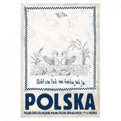 Polska z łabędziem,...