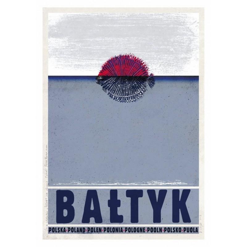 Pocztówka Bałtyk Ryszard Kaja