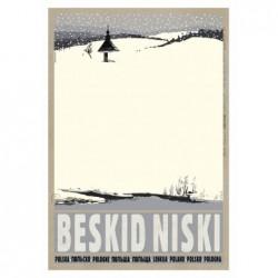 Beskid Niski, pocztówka,...