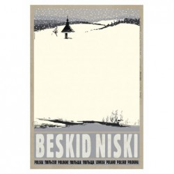 Beskid Niski, postcard by...