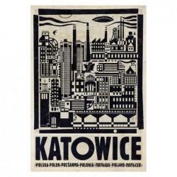 Katowice, pocztówka,...