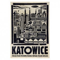 Katowice, postcard by...