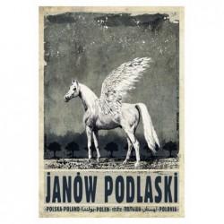 Janów Podlaski, postcard by...