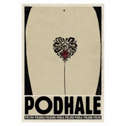 Podhale, postcard by...