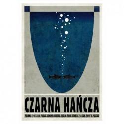 Czarna Hańcza, postcard by...
