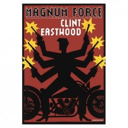 Magnum Force, postcard by...
