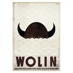 Wolin, postcard by Ryszard...