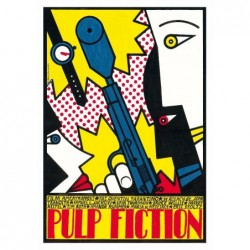 Pulp Fiction, postcard by...