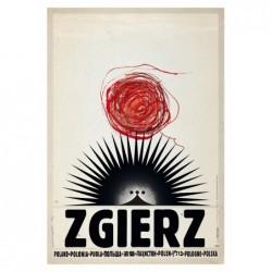 Zgierz, postcard by Ryszard...