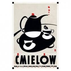 Ćmielów, postcard by...