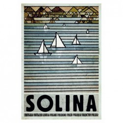 Solina, postcard by Ryszard...