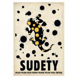 Sudety, postcard by Ryszard...