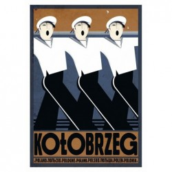 Kołobrzeg, postcard by...