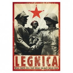 Legnica, pocztówka, Kaja...