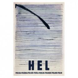 Hel, pocztówka, Ryszard Kaja