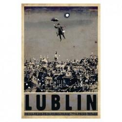 Lublin, pocztówka, Ryszard...