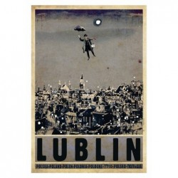 Lublin, postcard by Ryszard...