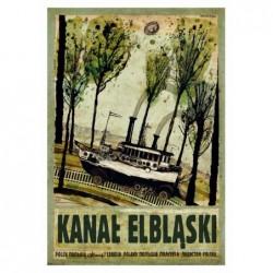 Kanał Elbląski, pocztówka,...