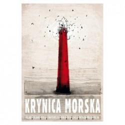 Krynica Morska, postcard by...