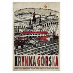Krynica Górska, postcard by...