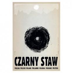Czarny Staw, postcard by...