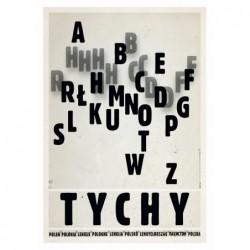 Tychy, pocztówka, Ryszard Kaja