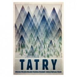Tatry, postcard by Ryszard...