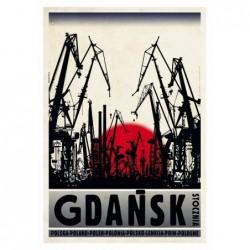 Gdańsk, pocztówka, Ryszard...