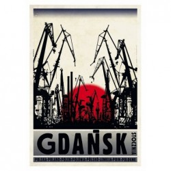 Gdańsk, postcard by Ryszard...