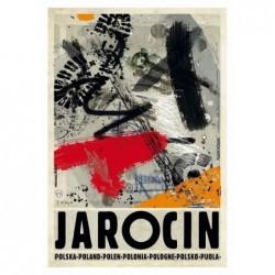 Jarocin, pocztówka, Kaja...