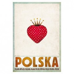 Polska z truskawką,...