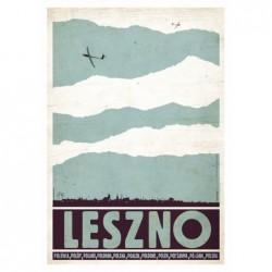 Leszno, postcard by Ryszard...
