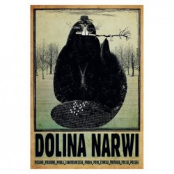 Dolina Narwi, postcard by...