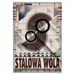 Stalowa Wola, postcard by...