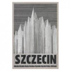 Szczecin, pocztówka, Kaja...