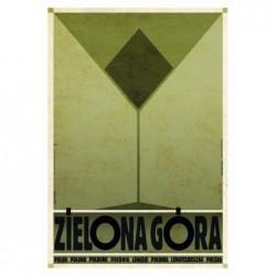 Zielona Góra, postcard by...