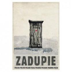 Zadupie, postcard by...