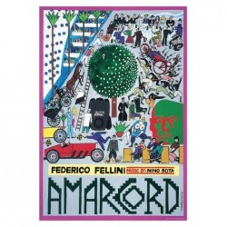 Amarcord, postcard by...