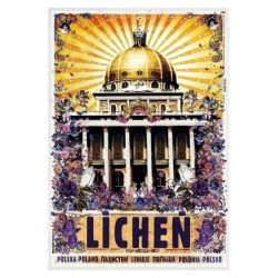 Licheń, postcard by Ryszard...