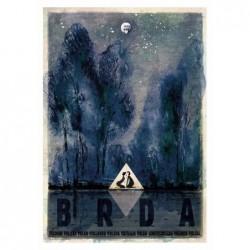 Brda, postcard by Ryszard Kaja